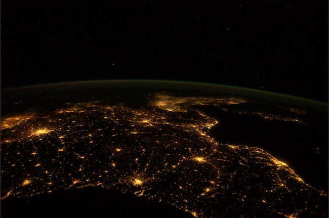 France At Night 30 Stunning Pictures Of Earth Taken From Space • Page 5 of 6 • BoredBug