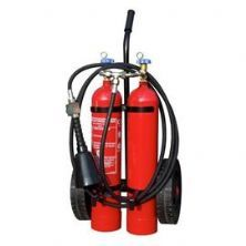 10 kg CO2 Wheeled Fire Extinguisher