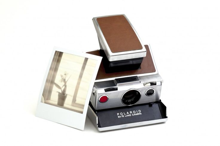 Limited Edition Polaroid SX-70. such a beauty :'(