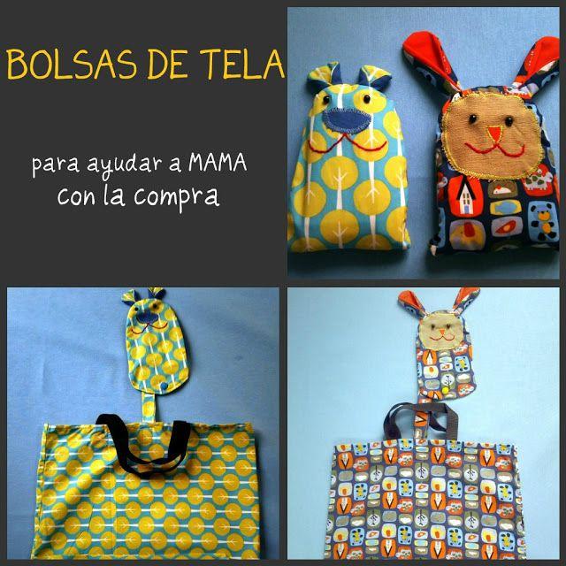 PANDIELLEANDO: Eco-friendly Shopping bag (bolsa para la compra)