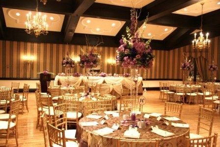 the old mill inn and spa toronto purple chocolate ivory and gold wedding decorations. Black Bedroom Furniture Sets. Home Design Ideas