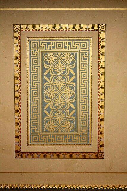 94 Best Greek Motifs Images On Pinterest Greek Art