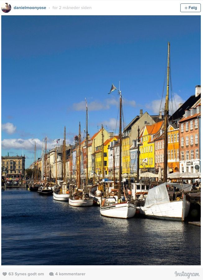 Denmark - Most Instagrammed places in DK