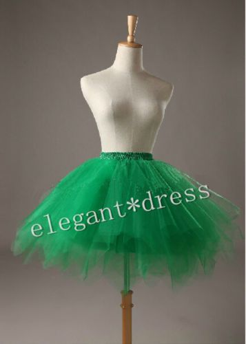 Ladyes-Girls-Dancewear-Cute-Tulle-petticoat-Tutu-Pettiskirt-Princess-Party-Skirt