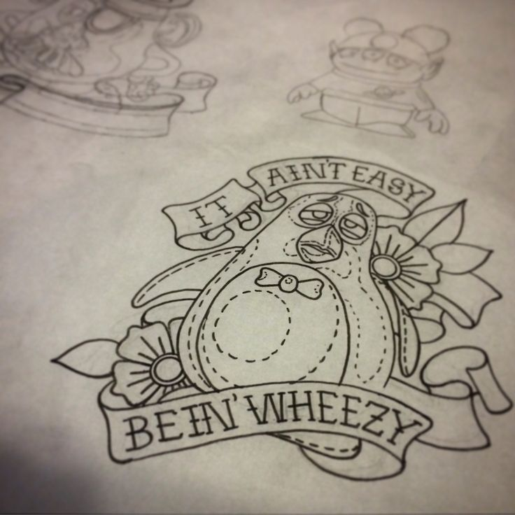 It ain't easy bein wheezy toy story tattoo flash, some more Disney designs ready to go. By Matt Robinson