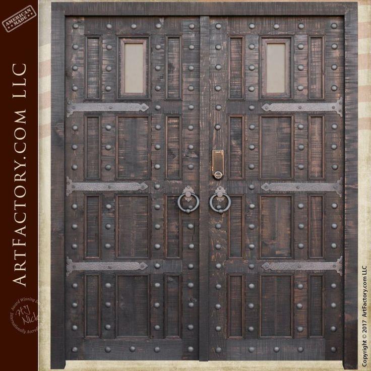 Best 25+ Castle doors ideas on Pinterest | Unique doors, Cool ...