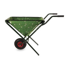 No room to store a traditional wheelbarrow? Try this folding version from Bed Bath and Beyond.