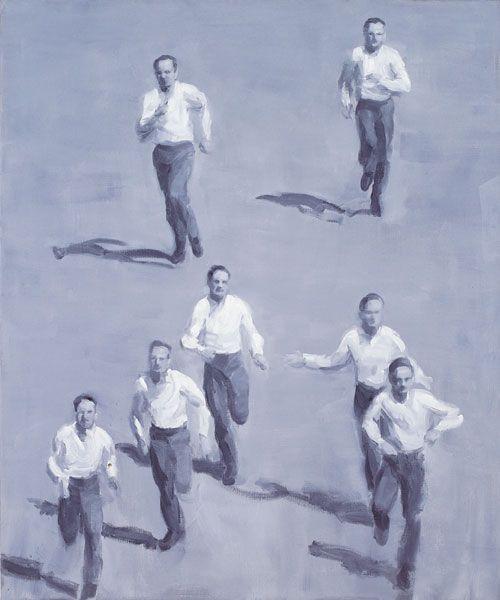 'Escape', 2002 Peter Martensen 120 x 100 cm Oil on canvas
