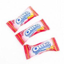 Oreo mini barre chocolat et Fraise - 9 Gr