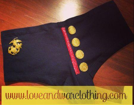 Dress blues USMC underwear