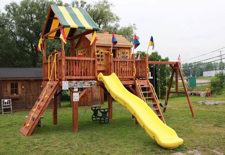 Custom play centre by Flamborough Patio