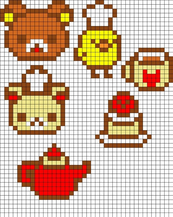 small perler bead ideas pictures to pin on