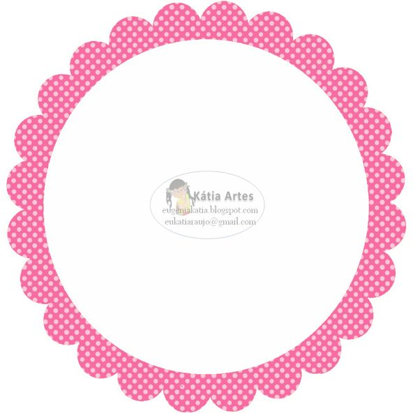 Polka Dots: Free Printable Labels, Stickers or Toppers.