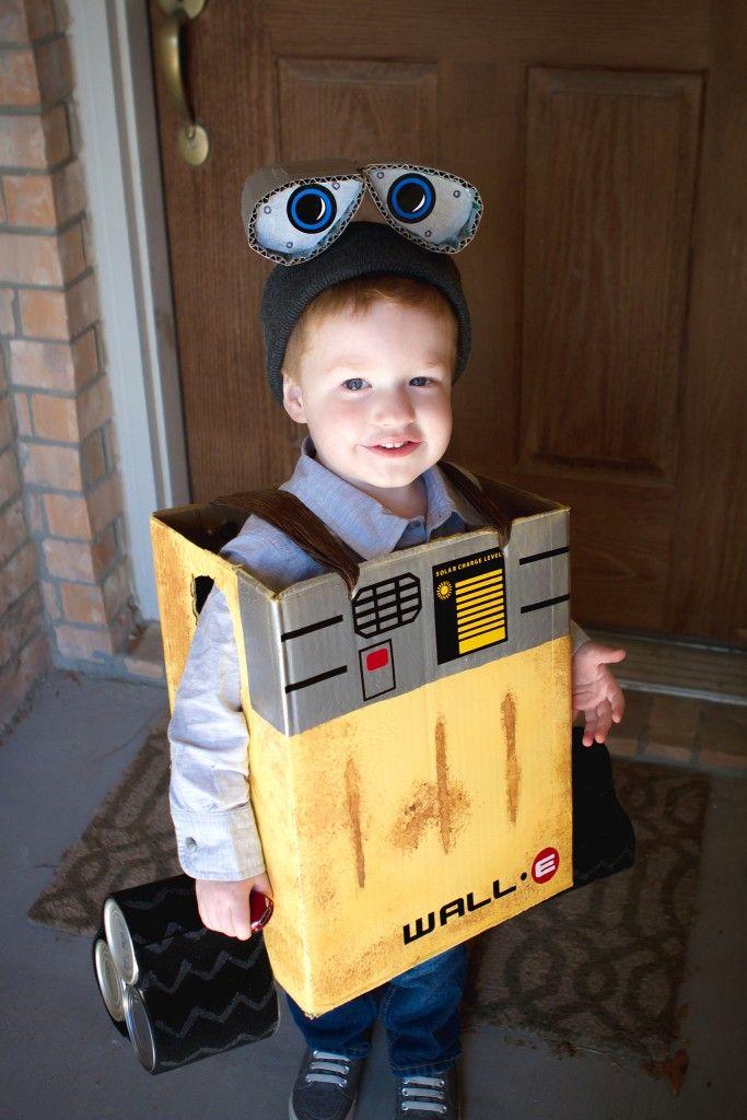 DIY Wall-e the robot costume for Halloween