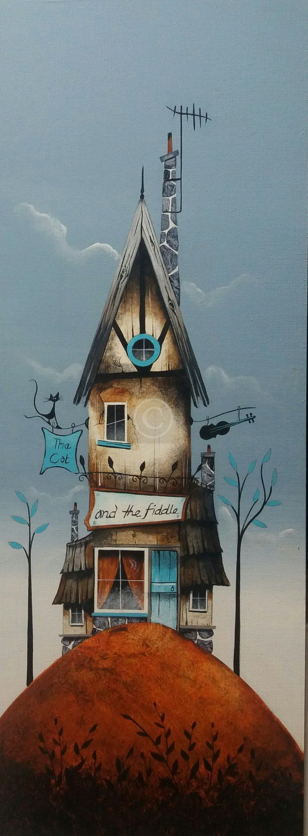 The Cat and the Fiddle by Gary Walton. He can produce some really interesting work. His website is a bit sparse so if you want to see more try google searching him