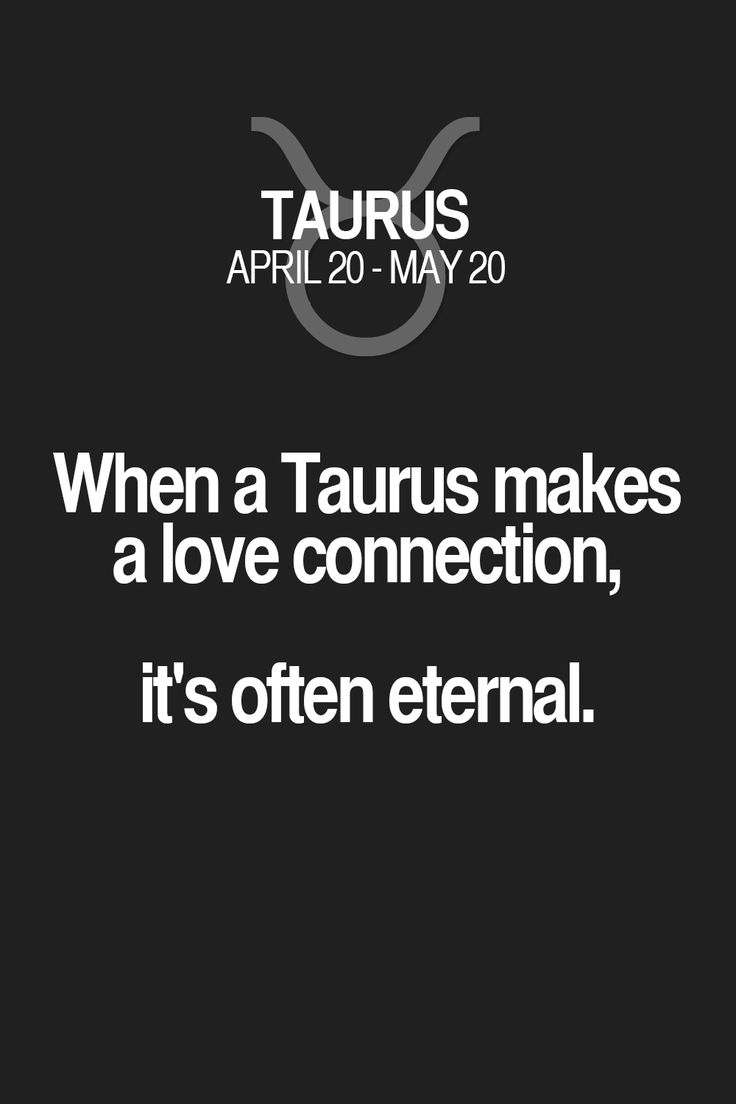 When a Taurus makes a love connection, it's often eternal.