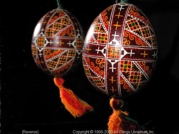 Ukrainian Easter Egg Pysanky 03-193  from the Lviv Region on AllThingsUkrainian.com