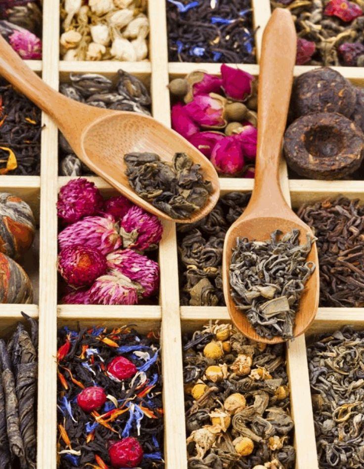 Wood Tea Box.