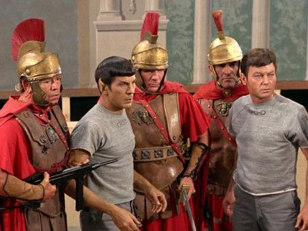 Learn Roman history along with the Enterprise with Star Trek history lesson plans
