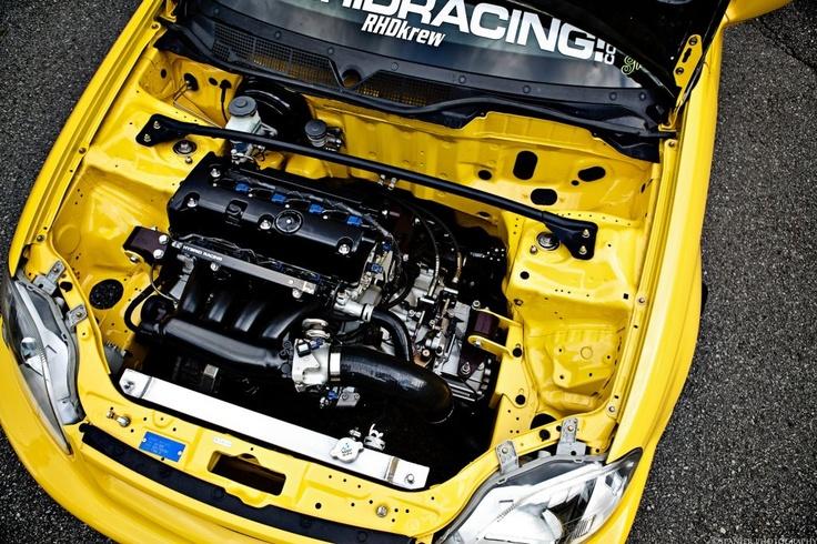 EK9 Civic Type R K-swap and cleanup