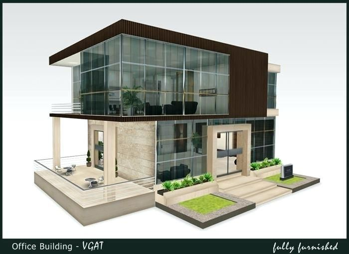 Small Office Building Design Ideas Is A Small Beautiful Small Office Building Its Elegant And Ex Office Building Architecture Building Exterior Building Design