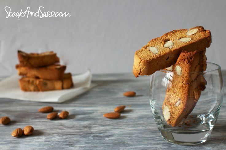 Honey-Almond Biscotti