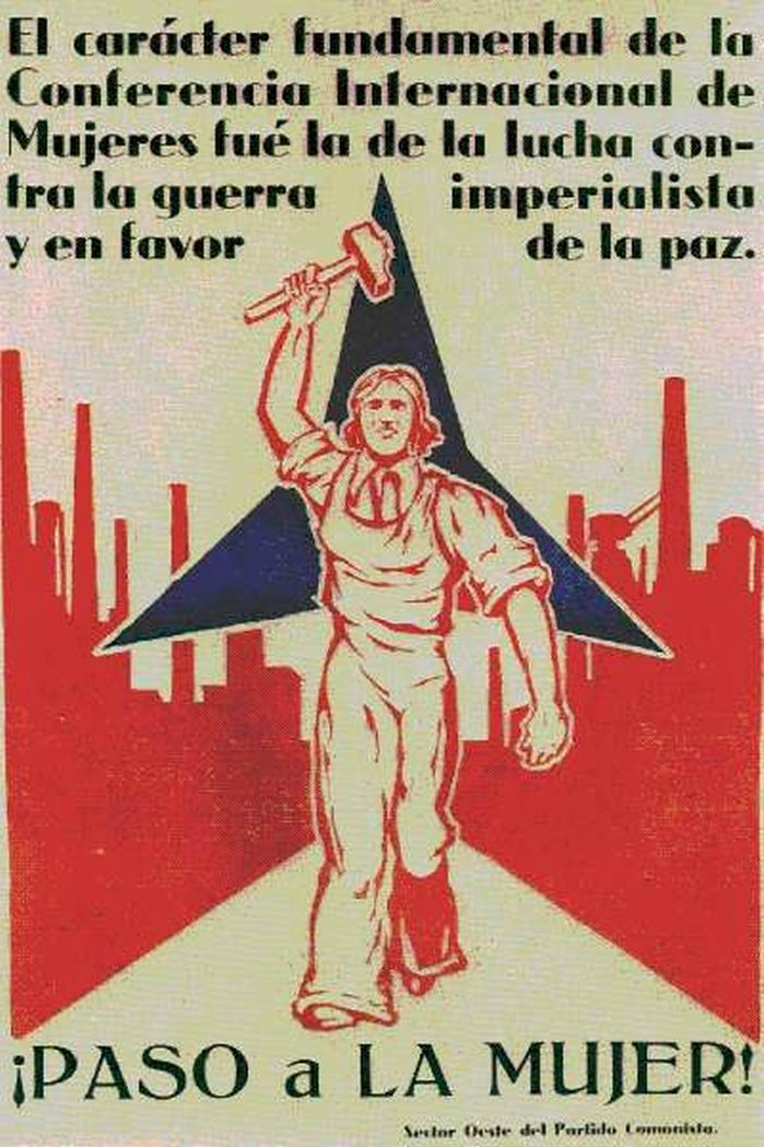 Revolutionary propaganda poster | Spanish civil war 1936/39 #Afiches @deFharo