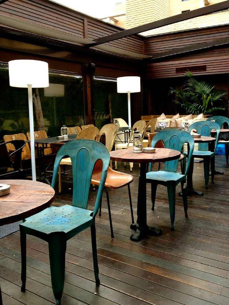 Decoracion terraza restaurante la misi n madrid lina for Decoracion de restaurantes