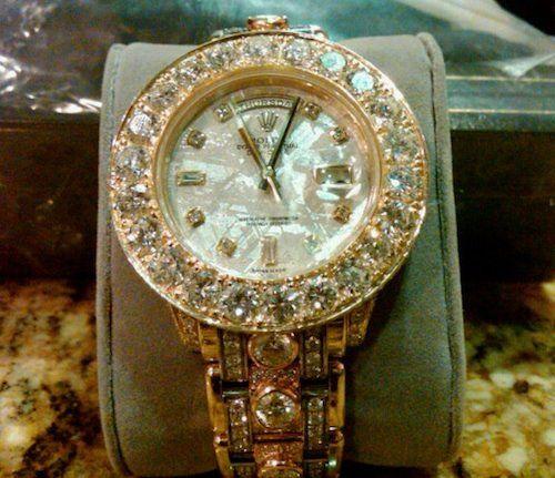 ♛ Rolex Bling - Gold / Diamonds ♛