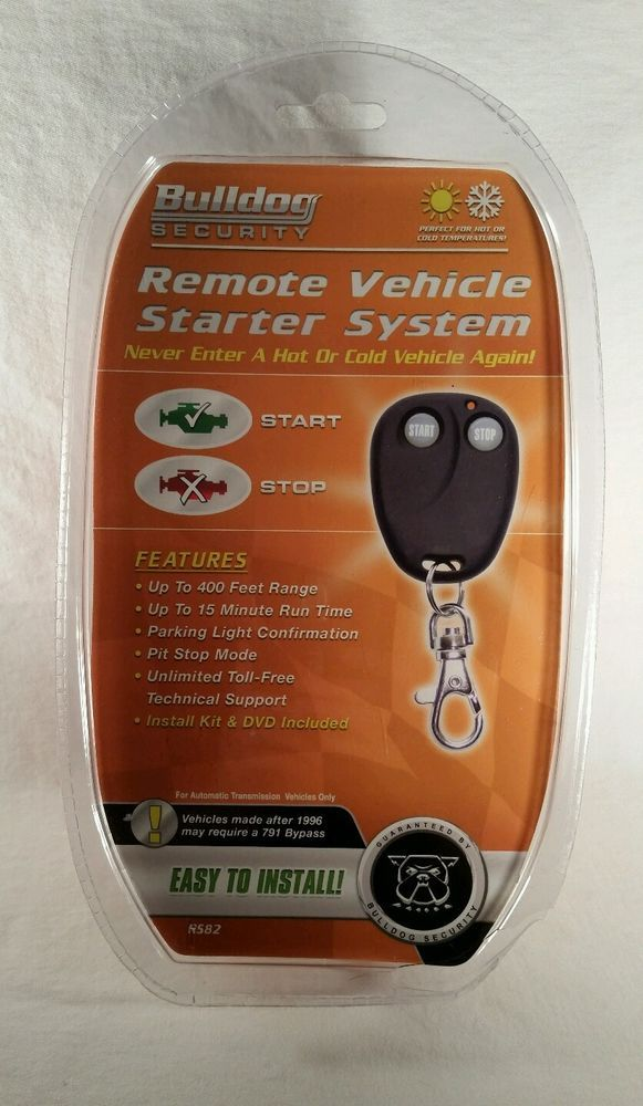 BULLDOG SECURITY REMOTE VEHICLE STARTER SYSTEM BRAND NEW REMOTE CAR START UNOPEN #BULLDOGSECURITY #TheEclectorium
