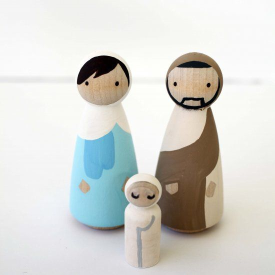 The 25 best modern nativity set ideas on pinterest nativity diy modern peg doll nativity set solutioingenieria Choice Image