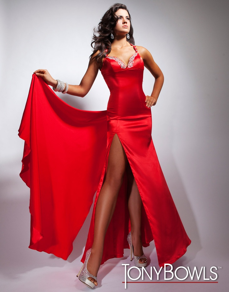 Candy apple red dresses
