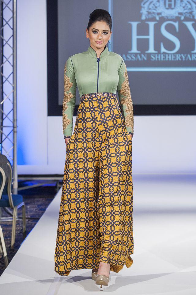 HSY at Pakistan Fashion Extravaganza London 2014