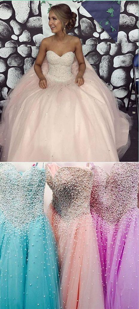 Sweetheart Beading Long Prom Dress,Prom Dress,Evening Dress,Prom Dresses