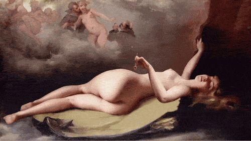 B E A U T Y - dir. Rino Stefano Tagliafierro https://vimeo.com/83910533 Luis-Ricardo-Falero—-Reclining-nude
