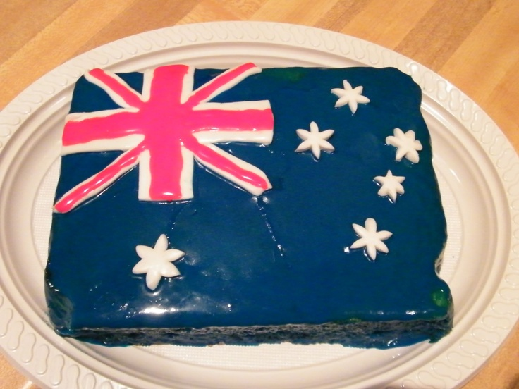 17 Best Images About Australia Day Cakes On Pinterest