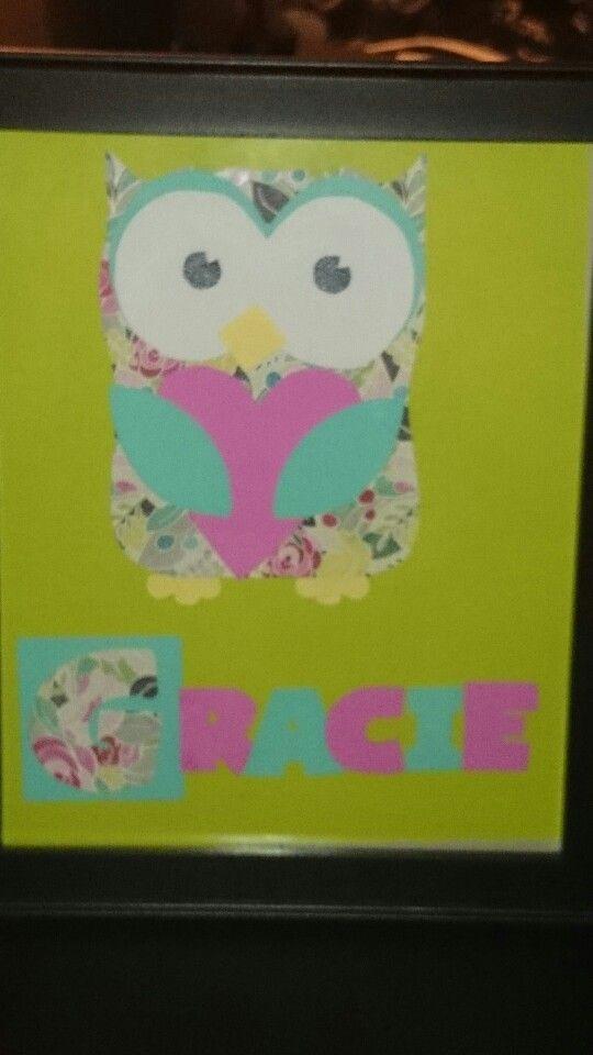 Owl nursery personalized
