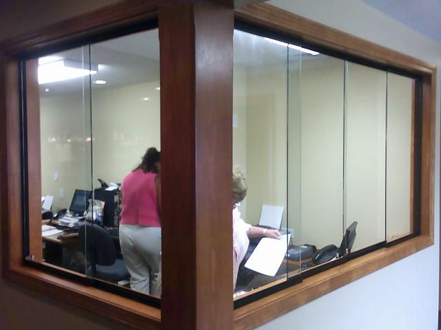 Sliding Glass Reception Windows Google Search