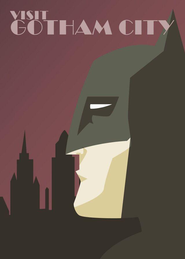 VISIT GOTHAM CITY - DC Superheroes PromoteTourism - News - GeekTyrant