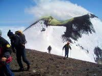 Etna volcano crater excursion