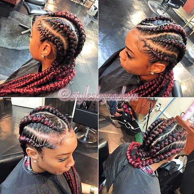 STYLIST FEATURE| Love how neat these #cornrows are done by ...