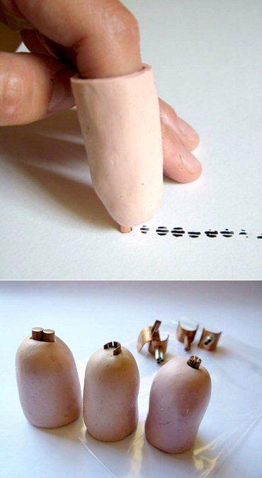 Hann Mawbey's Prosthetic finger printers