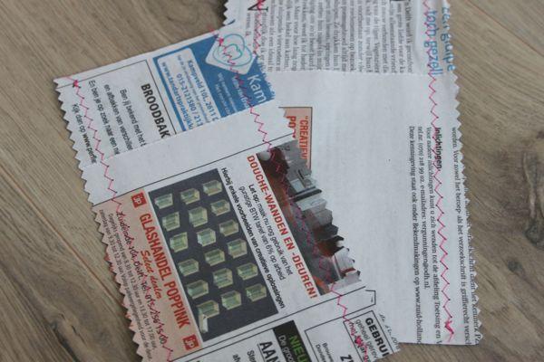 15 Minuten: Mini Zakjes van Papier #2