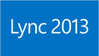 Microsoft Lync logo, courtesy of Our IT Department.
