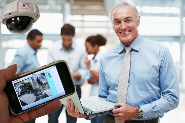 You can view your CCTV System from any location via your Smart phone.