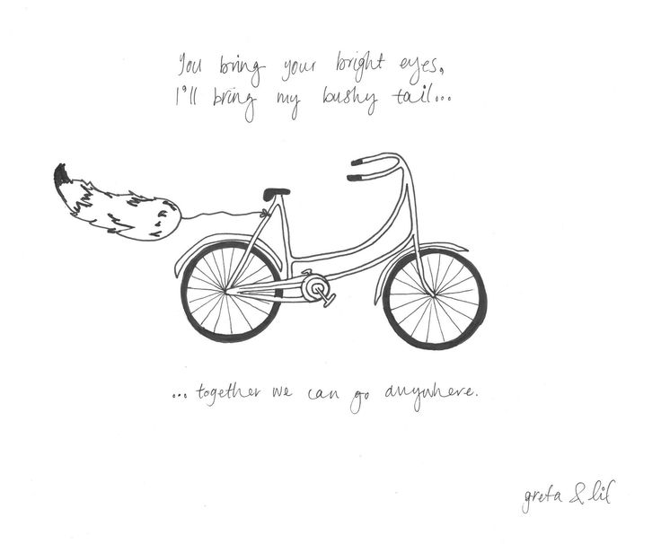 bicycle #10   collaboration is key.   @lilianstrauss