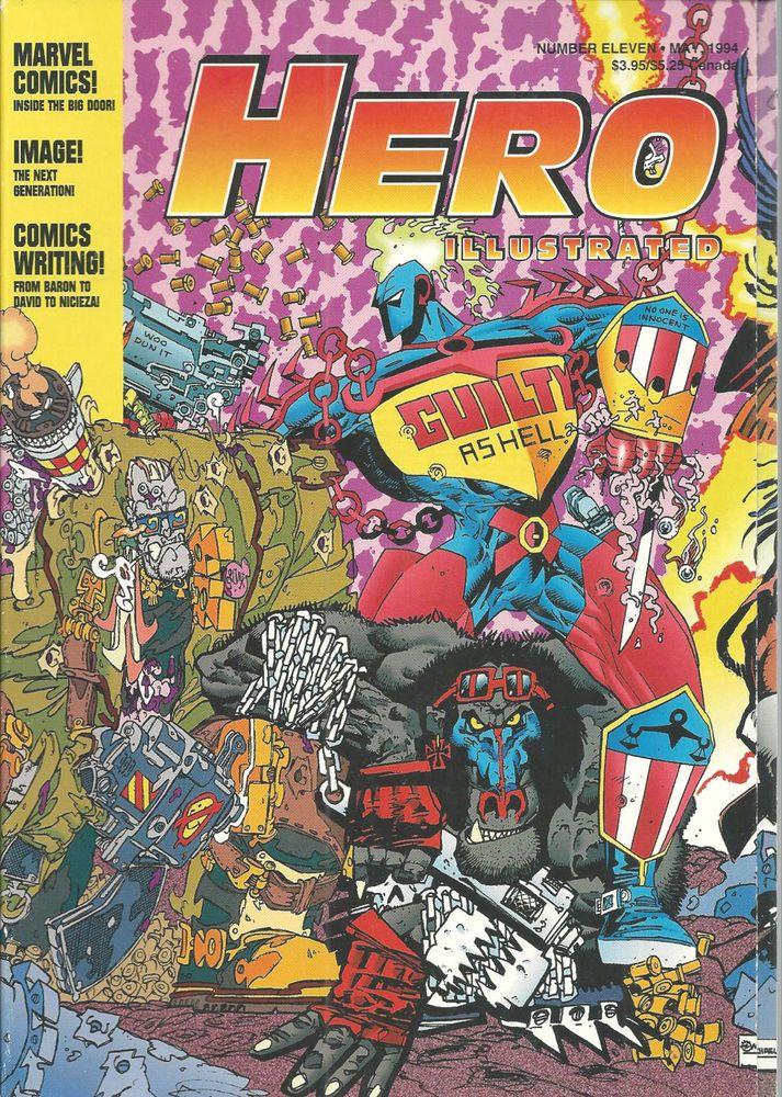 Hero Illustrated Magazine Price Guide Comics No 11 May 1994 Mort Drucker