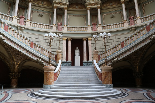 Inside Atheneum - Bucharest, Romania