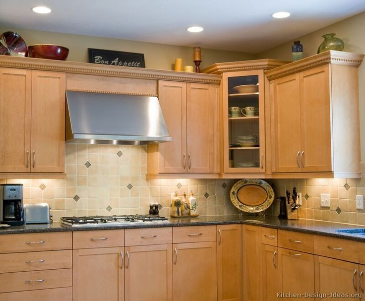 78 best images about light wood kitchens on pinterest Kitchen design with light oak cabinets