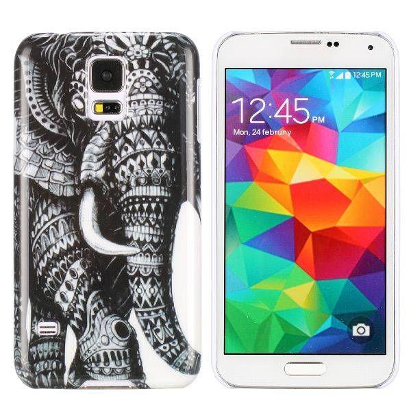 Stijlvolle olifant hoesje voor Samsung Galaxy S5